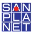 サンプラネット引越センター(本社)ロゴ